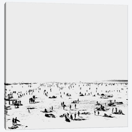 Beachy I Canvas Print #HOB17} by Dan Hobday Canvas Artwork