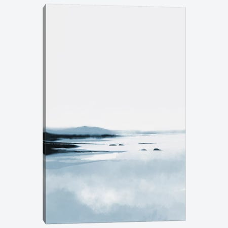 Calm Lake Canvas Print #HOB180} by Dan Hobday Canvas Art Print