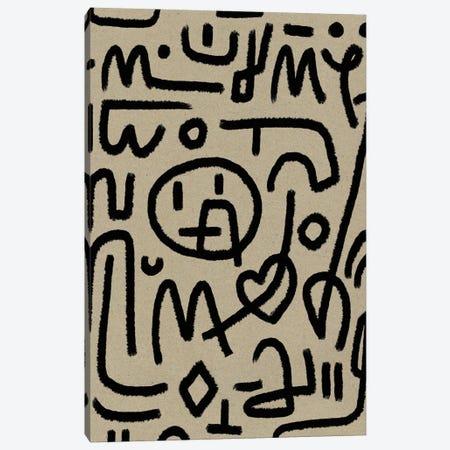 Coded Canvas Print #HOB194} by Dan Hobday Canvas Art Print