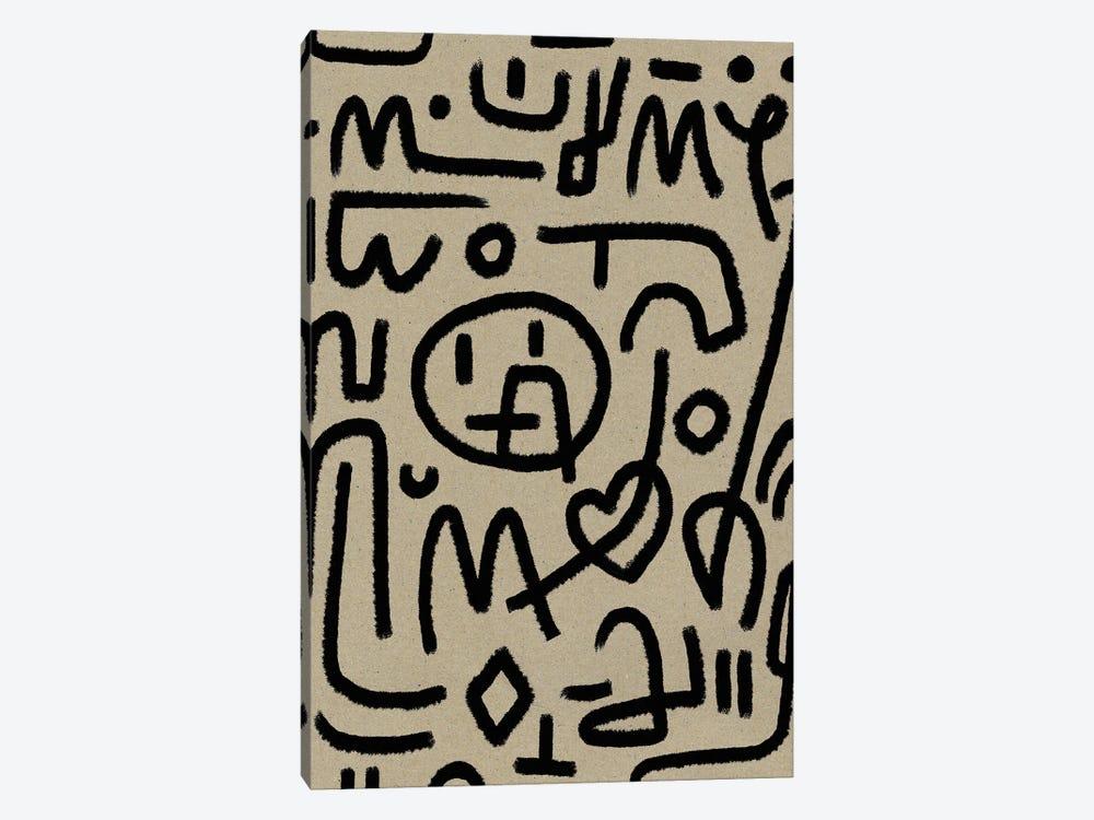 Coded by Dan Hobday 1-piece Canvas Art Print