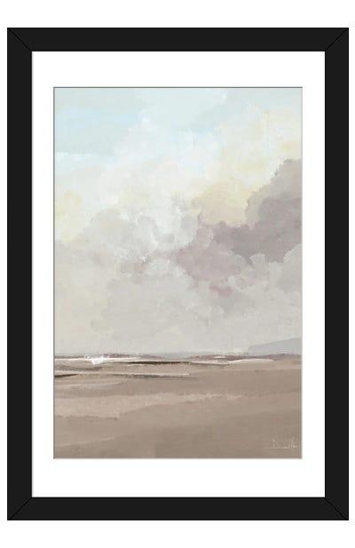 Beach Tide Framed Art Print