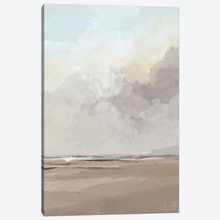 Beach Tide Canvas Print #HOB197} by Dan Hobday Art Print