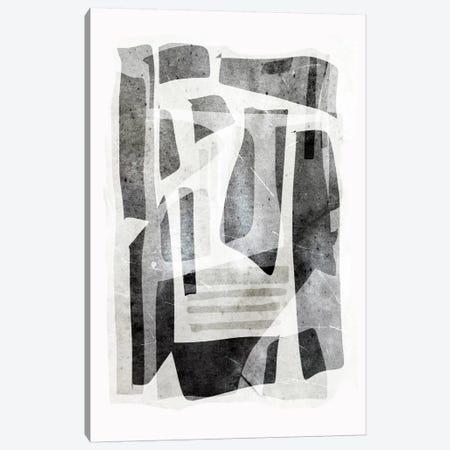Black Tone Forms Canvas Print #HOB19} by Dan Hobday Canvas Art Print