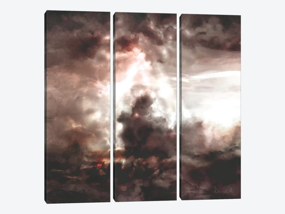 Cloud Dream by Dan Hobday 3-piece Canvas Print