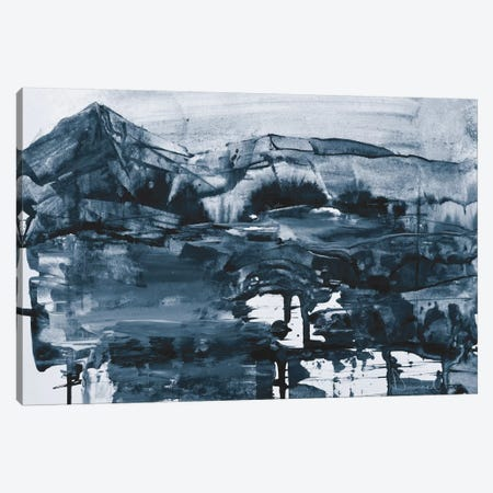 Cobalt Land Canvas Print #HOB24} by Dan Hobday Canvas Art Print