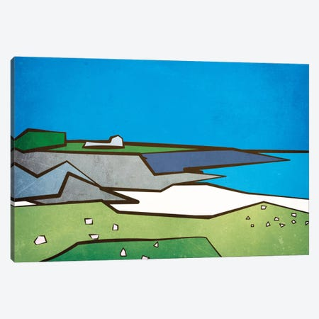 Cornwall II Canvas Print #HOB28} by Dan Hobday Canvas Wall Art