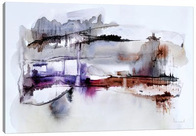 Abstract Landscape XII Canvas Art Print