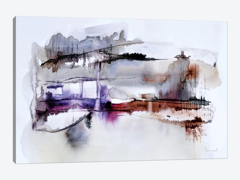 Abstract Landscape XII by Dan Hobday 1-piece Canvas Print