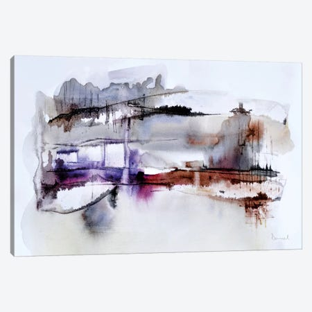 Abstract Landscape XII 3-Piece Canvas #HOB3} by Dan Hobday Canvas Print