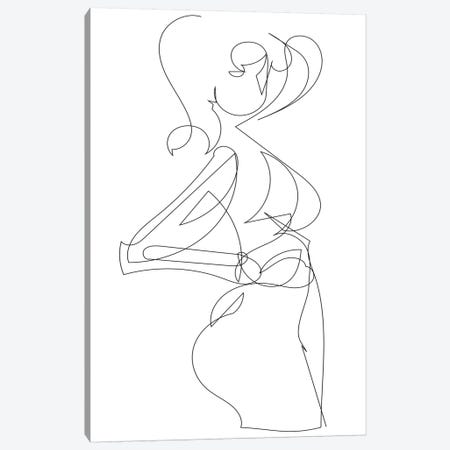 Figure Canvas Print #HOB40} by Dan Hobday Canvas Wall Art
