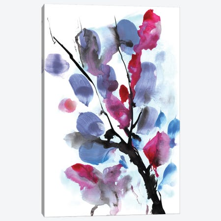 Floral I Canvas Print #HOB41} by Dan Hobday Canvas Art