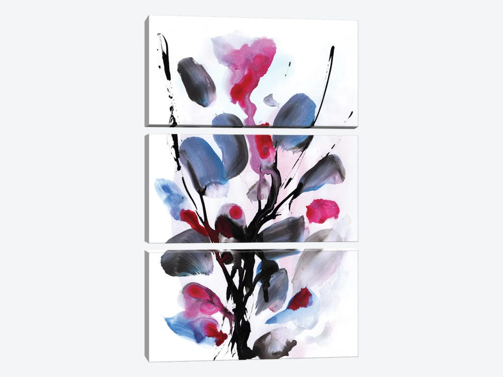 Floral II by Dan Hobday 3-piece Canvas Artwork