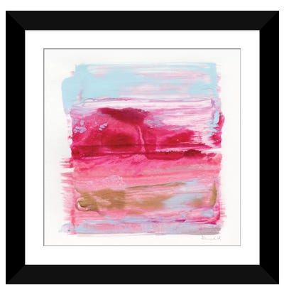 Gaze Abstract Framed Art Print