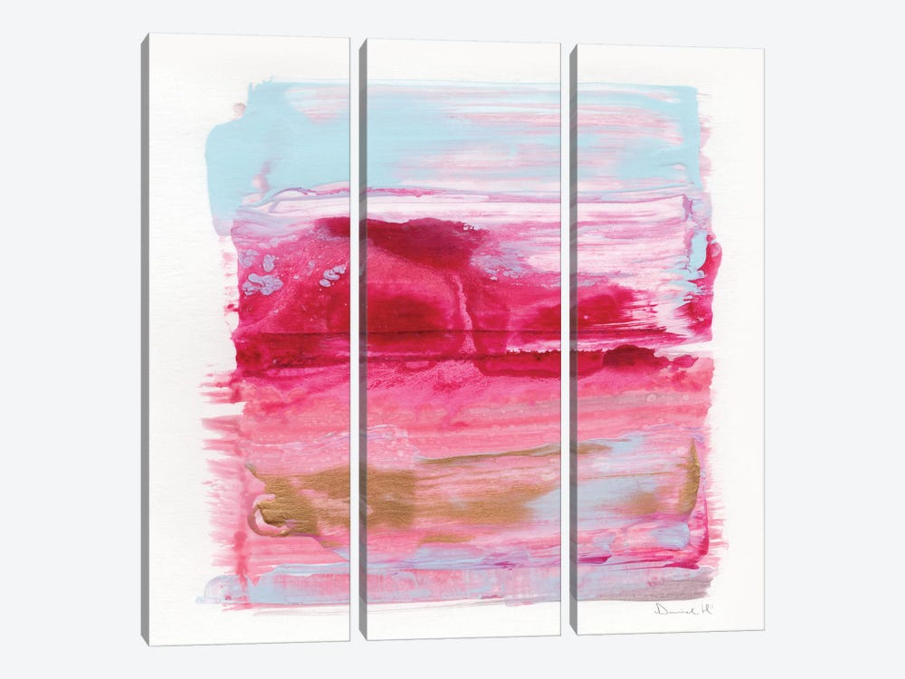 Gaze Abstract 3-piece Canvas Art Print
