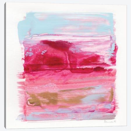 Gaze Abstract Canvas Print #HOB47} by Dan Hobday Canvas Art Print