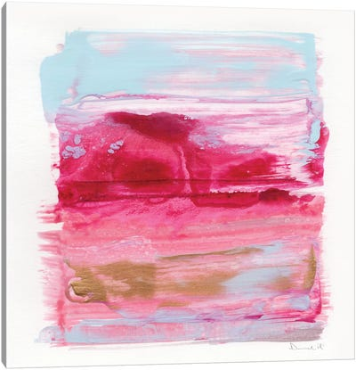 Gaze Abstract Canvas Art Print