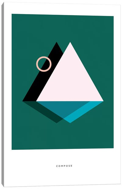 Geo Art Compose Canvas Art Print