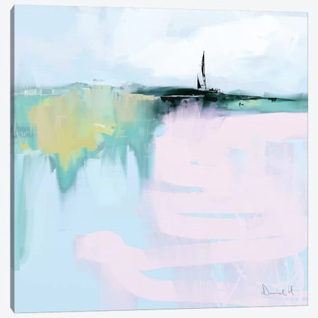 Horizon Canvas Print #HOB49} by Dan Hobday Canvas Wall Art