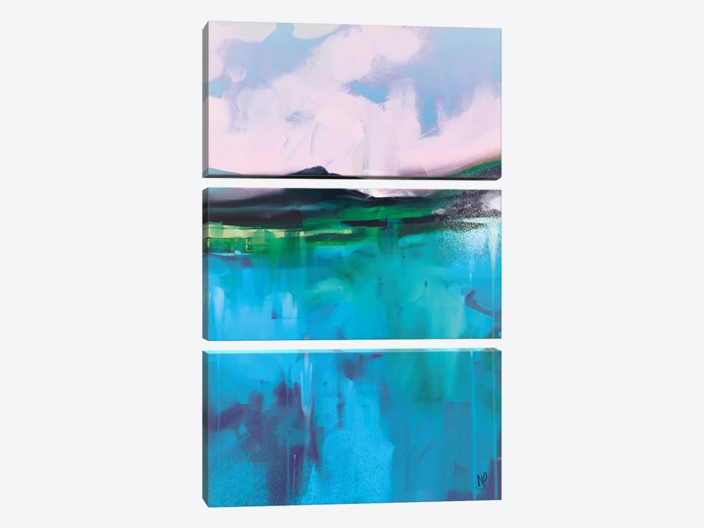 Land II by Dan Hobday 3-piece Canvas Print