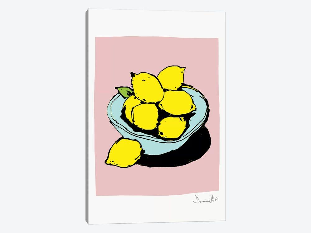 Lemons by Dan Hobday 1-piece Canvas Artwork
