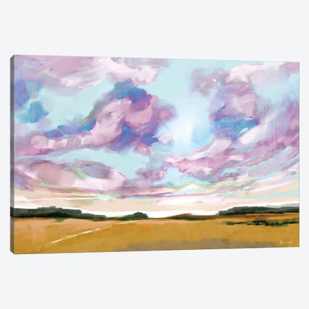 Meadow Canvas Print #HOB56} by Dan Hobday Canvas Wall Art