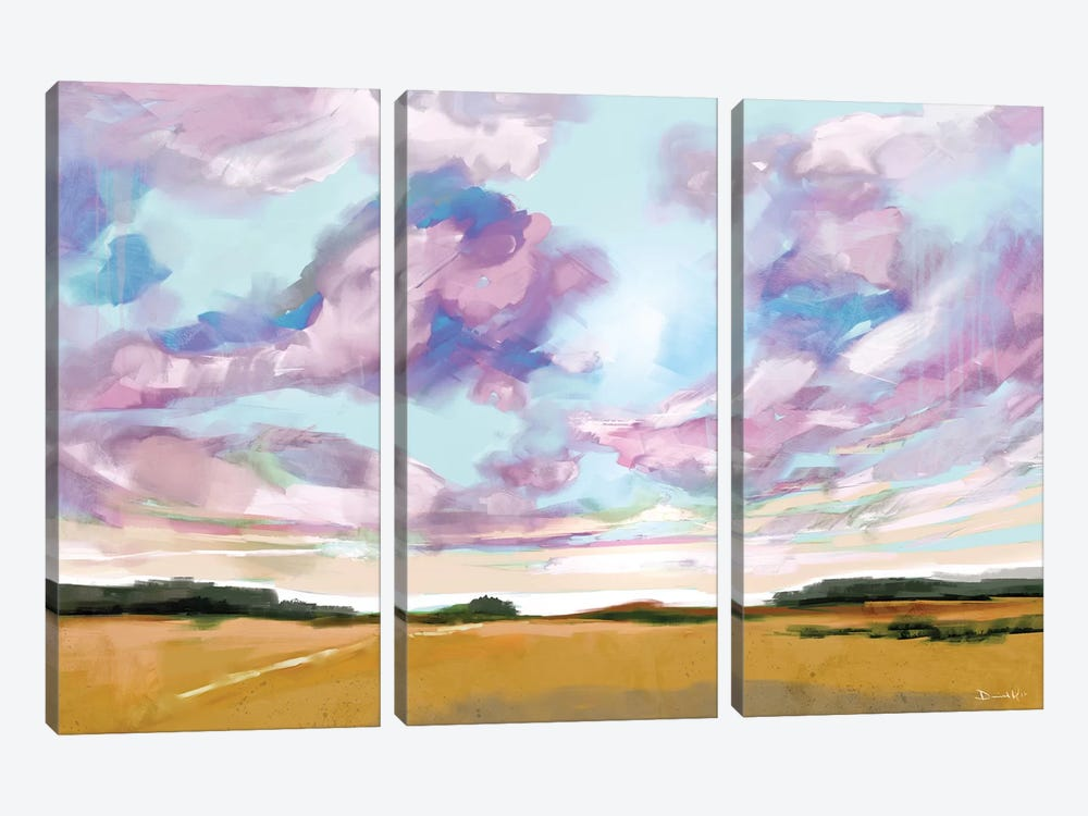 Meadow by Dan Hobday 3-piece Canvas Art Print