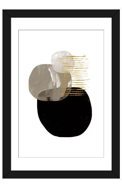 Minimal Tone Framed Art Print