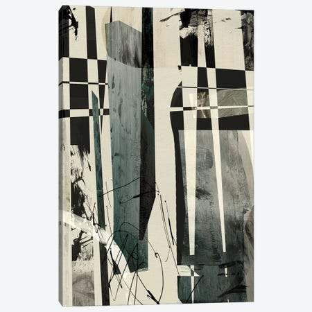 Mono 3-Piece Canvas #HOB59} by Dan Hobday Canvas Art Print