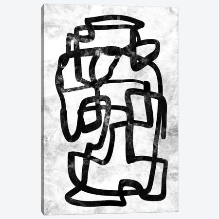 Mono Set I Canvas Print #HOB60} by Dan Hobday Canvas Wall Art