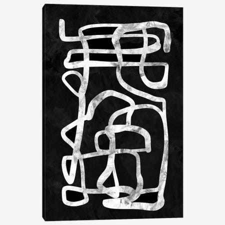 Mono Set II Canvas Print #HOB61} by Dan Hobday Canvas Wall Art