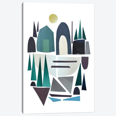 Nordic Art II Canvas Print #HOB67} by Dan Hobday Canvas Print