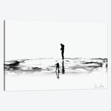 On The Beach Canvas Print #HOB74} by Dan Hobday Canvas Art