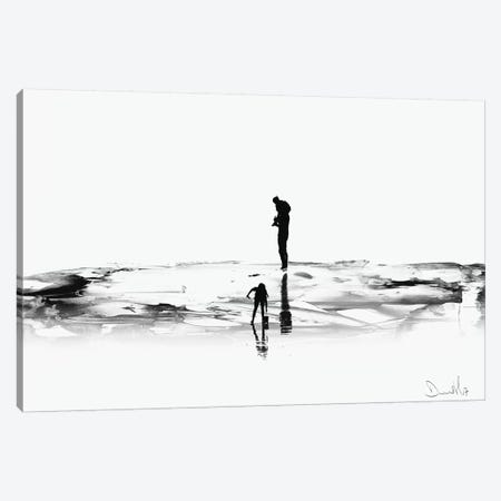 On The Beach Canvas Print #HOB74} by Dan Hobday Canvas Art