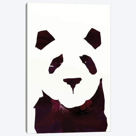 Panda I Canvas Print #HOB76} by Dan Hobday Canvas Wall Art
