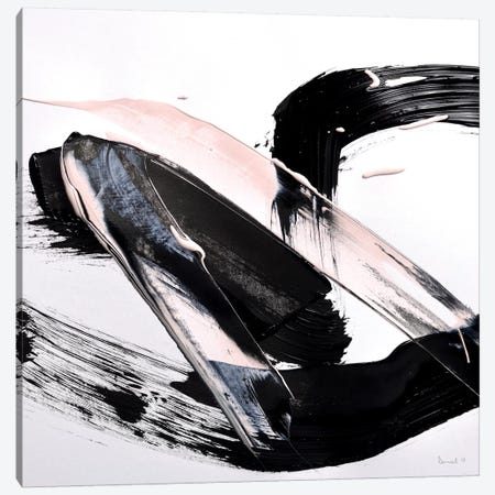 Peach Black Blast Canvas Print #HOB78} by Dan Hobday Canvas Print