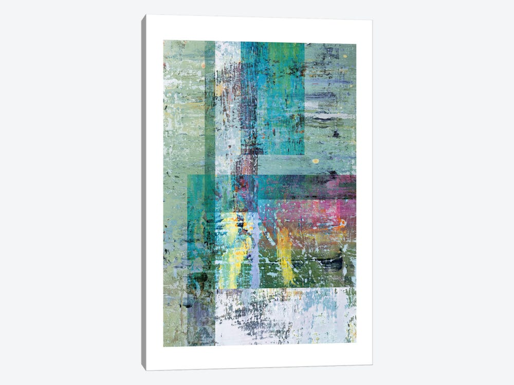 Abstract Tones 1-piece Canvas Art Print