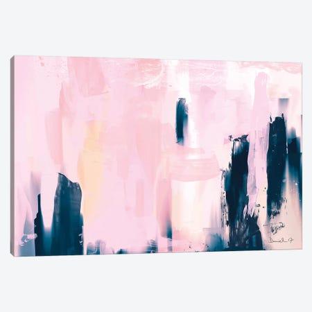 Pink Navy Canvas Print #HOB80} by Dan Hobday Canvas Art
