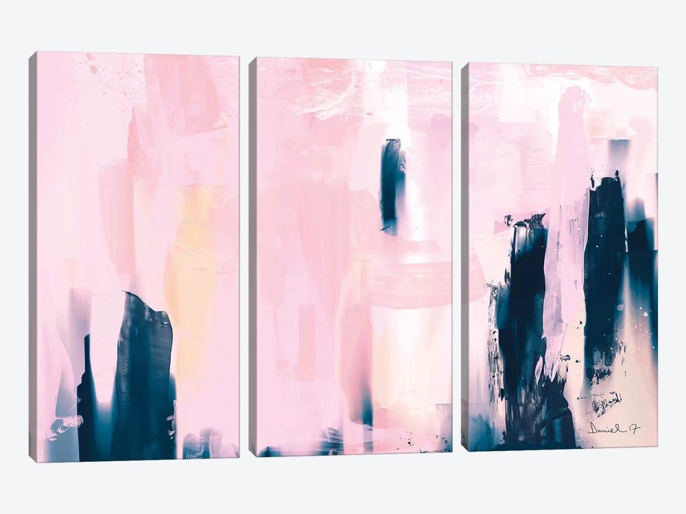 Pink Navy by Dan Hobday 3-piece Canvas Artwork
