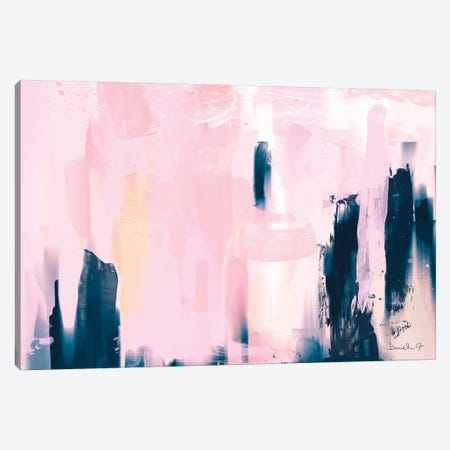 Pink Navy 3-Piece Canvas #HOB80} by Dan Hobday Canvas Art