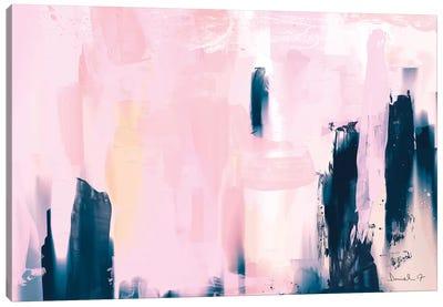 Pink Navy Canvas Art Print