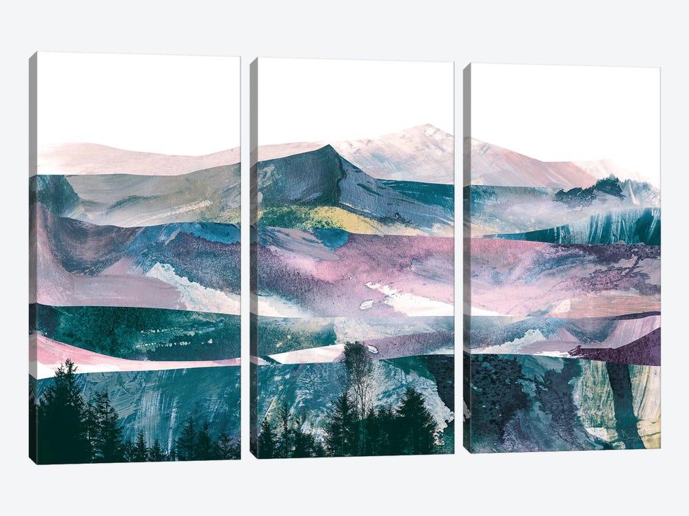 Pink Range by Dan Hobday 3-piece Canvas Wall Art