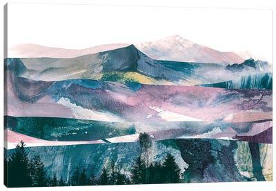 Pink Range Canvas Art Print