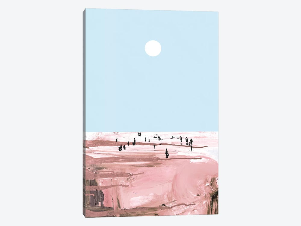 Rose Beach by Dan Hobday 1-piece Canvas Artwork