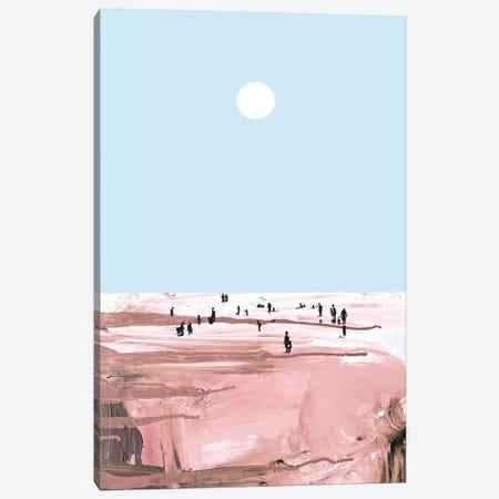 Rose Beach 3-Piece Canvas #HOB84} by Dan Hobday Canvas Print