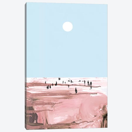 Rose Beach Canvas Print #HOB84} by Dan Hobday Canvas Print