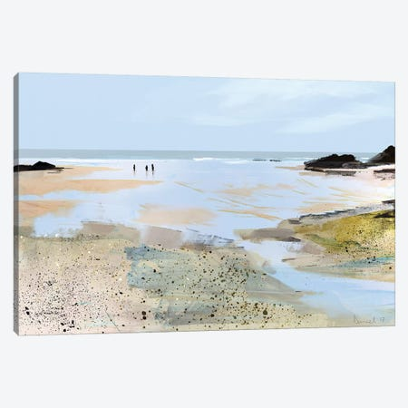 Sea View Canvas Print #HOB88} by Dan Hobday Canvas Artwork