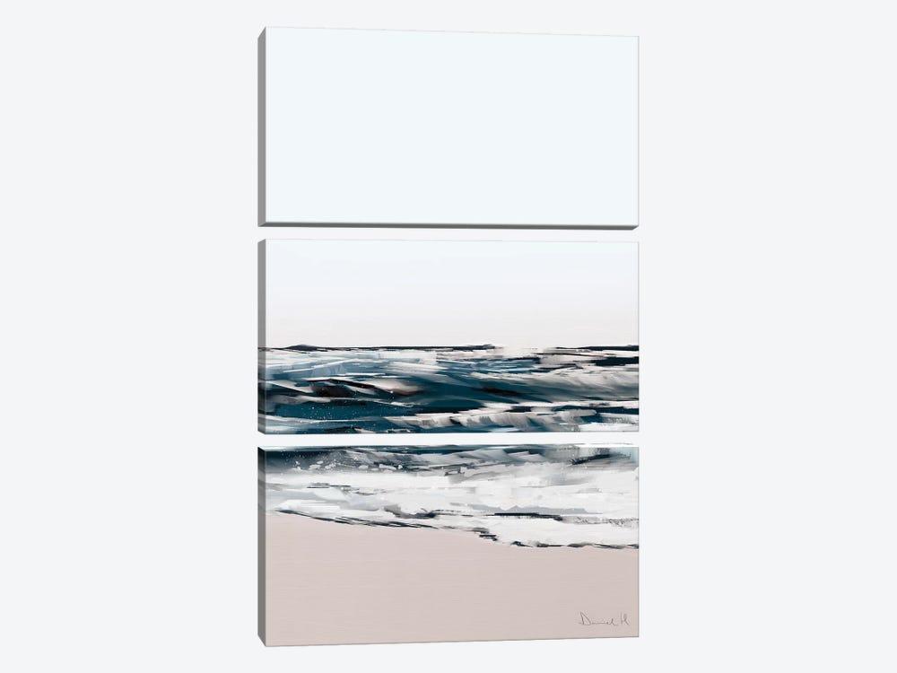 Seashore by Dan Hobday 3-piece Canvas Art Print