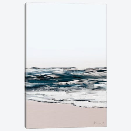 Seashore Canvas Print #HOB89} by Dan Hobday Canvas Art