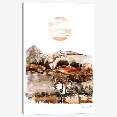 Sunset Mountain Canvas Print #HOB92} by Dan Hobday Canvas Art Print