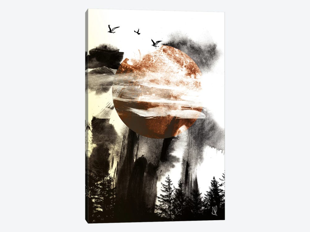 Trees III by Dan Hobday 1-piece Art Print